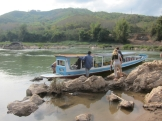 Our boat for the 6 hour ride to Luang Prabang